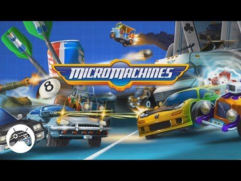 MICRO MACHINES Android Gameplay