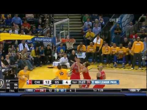 Warriors 2012-13: Game 67 vs Bulls (3-15-2013)