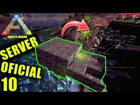 INTENTO RAIDEAR SOLO BASE de TRIBU ALFA CON BALSA !!! SERVER OFICIAL PvP #10 SERIE ARK SURVIVAL
