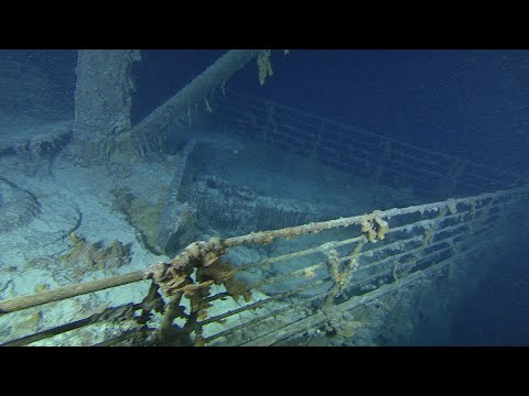 video: Titanic explorers accused of 'piracy' as row deepens over plan to seize hidden treasures from wreck