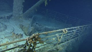 video: Treasures to be taken from inside Titanic for first time after landmark court ruling