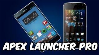 Apex Launcher Pro para Android