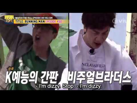 Fearless Jae Suk and Kwang Soo! (Running Man EP 450 w/ Eng Subs)
