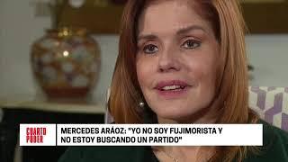 Cuarto Poder: Mercedes Aráoz (entrevista completa)