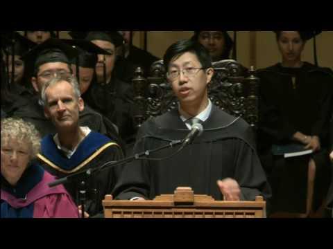 UBC Graduation 2017 - Sauder School of Business Valedictorian Speech (Mark M. Chen)