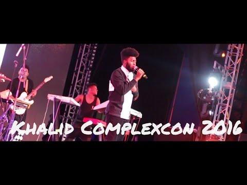 Khalid ComplexCon 2016 'Location'