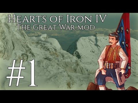 [1] Hearts of Iron IV - The Great War - Montenegro - The powder keg!