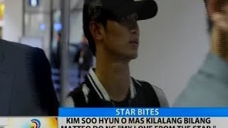BT: Kim Soo Hyun o mas kilala bilang Matteo Do ng 'My Love From The Star,' dumating sa bansa