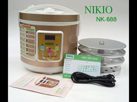 Máy Làm Tỏi Đen Nikio NK688 (5L)