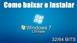 Como formatar seu PC e instalar o Windows 7 32/64 BITS [HD]