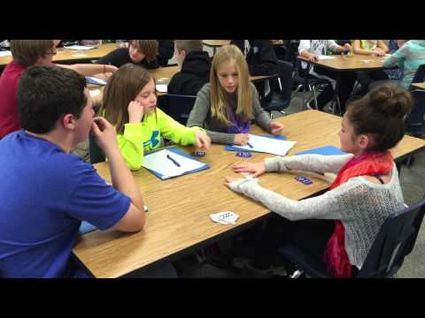 """Olympia Middle School students play """"24"""""""