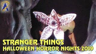 Stranger Things maze at Halloween Horror Nights Hollywood 2019