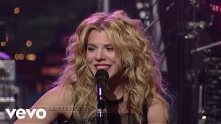 Repeat youtube video The Band Perry - If I Die Young (Live On Letterman)