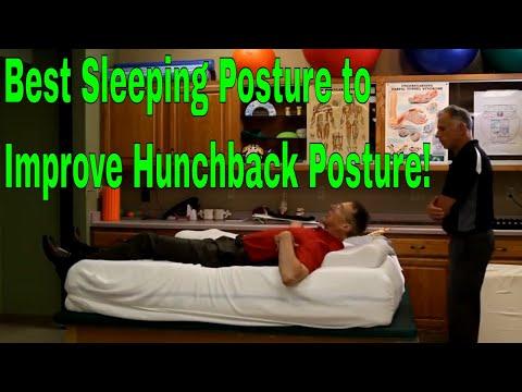 Best Sleeping Posture to Improve Hunchback Posture!