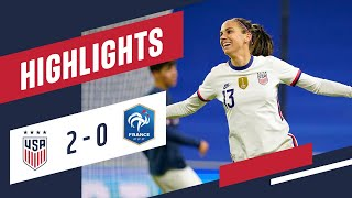 USWNT vs France Highlights April 13 2021