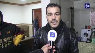 مياه الأمطار تداهم منازل في إربد وتخلف أضرارا مادية (27.12.2019)