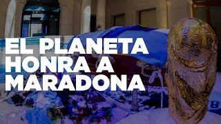 EL PLANETA HONRA A DIEGO MARADONA - TFN