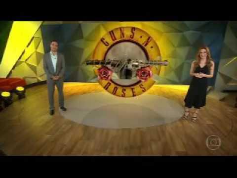 Guns n' Roses-entrevista no fantástico(Axl e Duff)