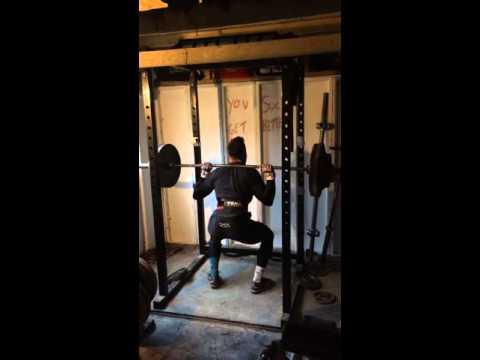 Pause Squat 140kg X3reps