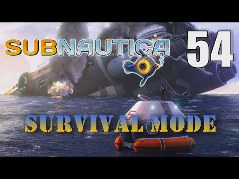 DRILL GOLD SILVER COPPER LARGE DEPOSITS - Subnautica Survival [54] Let's Play Walkthrough - Part 54