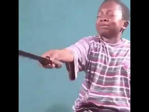 Black Kid Wwith A Machete Meme