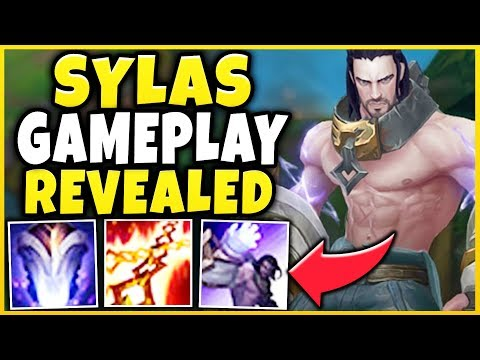 NEW CHAMPION SYLAS GAMEPLAY REVEALED! STEAL ULTS FROM ANY CHAMPION!!! - League of Legends thumbnail