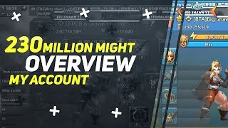 NeoN - My 230 Million Might Account Overview - Lords Mobile - Live Video