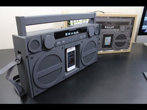 Review: iHome iP4 Portable FM Stereo Boombox for iPhone/iPod (Gunmetal) Review/ Sound Demo