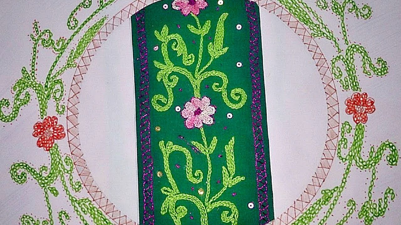 Fashion designing first course hand embroidery file