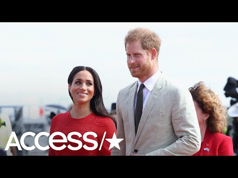 8410fe5b3 Meghan Markle & Prince Harry Share A Thank You Note Following Royal Tour  Down Under | Access