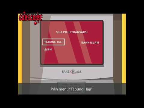 Cara Link Kad Atm Bank Islam Ke Akaun Tabung Haji Youtube