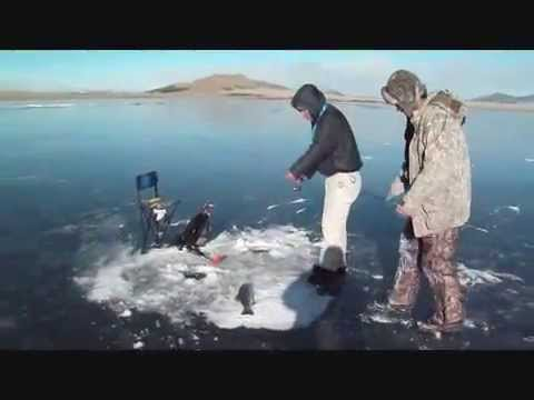 Eleven mile reservoir ice fishing youtube for 11 mile fishing report