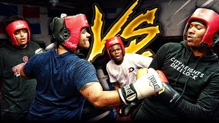 AMP 2v2 TAG-TEAM BOXING YouTube Videos