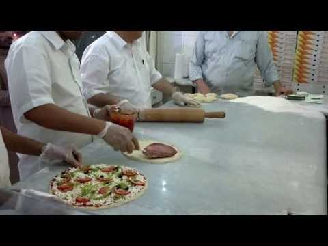 Fast food preparing in Riyadh Restaurant