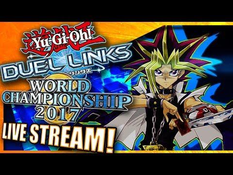 [LIVE] Yu-Gi-Oh! Duel Links - 2017 World Championship Qualifiers PLATINUM RANK! [Helix101 Gaming]