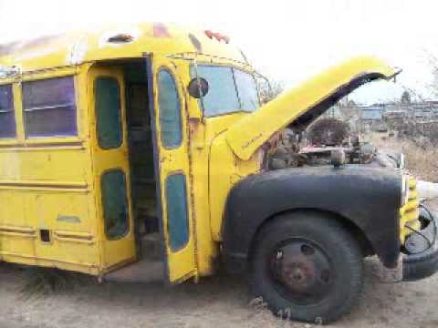 Old School Bus Gets Restored Youtube