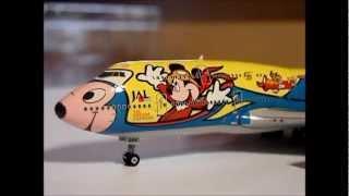 "PHOENIX MODELS - BOEING 747-446D - JAPAN AIRLINES - JAL DREAM EXPRESS  - ""DISNEY DREAM STORY #6"""