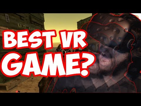 A WHOLE ARCADE TO MYSELF?! | Operation Warcade VR | Virtual Reality Videos / HTC Vive Gameplay