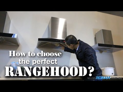 How to choose the best rangehood pt1  |  ROBAM Rangehood Demostration  |  ROBAM Australia