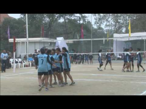 Inter IIT Meet 2016 Volleyball SF1 Women (Kanpur Vs Delhi)