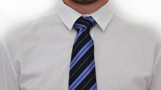 Как завязывать галстук узел Бальтюс How to tie a tie knot Balthus