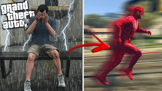 MICHAEL becomes FLASH w/ Super Powers (GTA 5 Mods)
