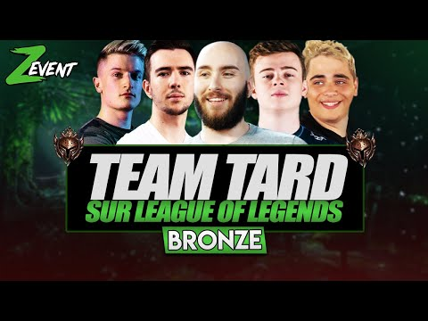 Vidéo d'Alderiate : [FR] ALDERIATE, KAMETO, CHAP, WAKZ & JBZZ - ZEVENT 2020 - TEAM TARD LEAGUE OF LEGENDS EN BRONZE
