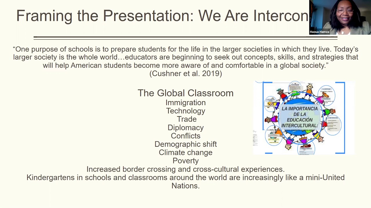 Practicing Global and Intercultural Pedagogy: Teacher Dispositions and the Curricular Dimensions