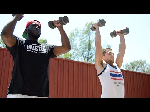 Hustle Matters Ep. 9  I WORKED OUT WITH SUPERMAN: DYLAN SPRAYBERRY