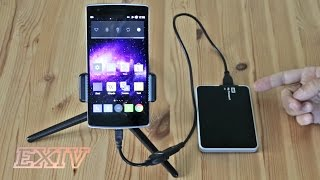 Connecting external hard drives to smartphones