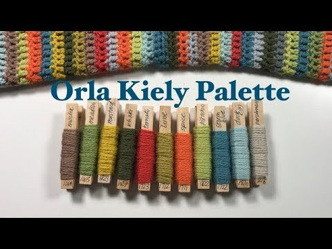 Ophelia Talks about the Orla Kiely Palette