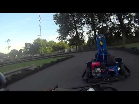 Crofton Go-Kart Track ( Testing new Sony Action Cam)