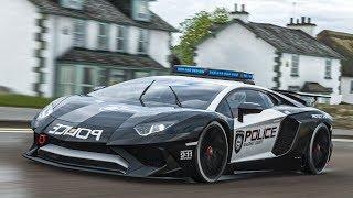 เปลี่ยนแลมโบเป็นรถตำรวจ (Lamborghini Aventador LP750-4 SV Forza Horizon 4)