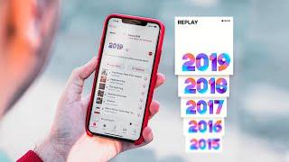 Apple Music Replay es increíble, así puedes activarlo